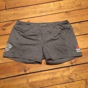 Reebok spandex CrossFit shorts, size medium
